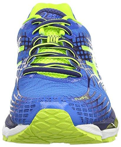 Asics Gel-nimbus 17, Mannen Loopschoenen Blauw (elektrisch Blauw / Geel Knipperen / Ind 3907)