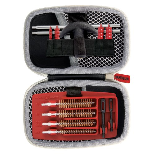 Real Avid Gun Boss Handgun Cleaning Kit - for .22, .357, 9MM, .38, .40, .44, and .45 caliber handguns