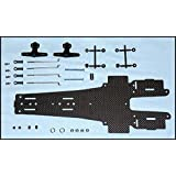 シェブロンモデルズ サイバーフォーミュラRC用カーボンシャーシ6輪コンバージョン2 RCK003