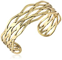 "Lucky Brand Gold Metal Cuff Bracelet, 1"" from Lucky Brand"