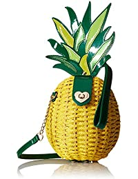 Pineapple Wicker Shoulder Bag