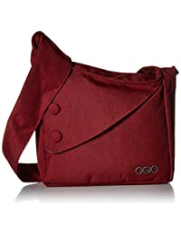 OGIO Brooklyn Purse Messenger Bag, Wine, Under Seat