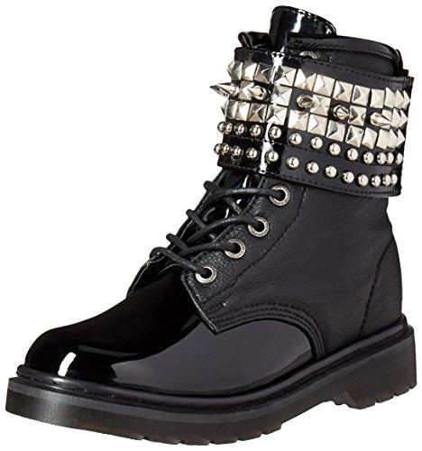 Boot Vegan Black Riv106 Women's Demonia Bpu Pat q1tFxX