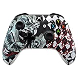 eXtremeRate Patterned Front Housing Shell Faceplate for Xbox One S & Xbox One X Controller (Joker) For Sale