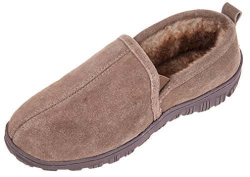 Cowhide Brown Men's Leather On Outdoor Loafers Causal Slip Flats MIXIN Shoes Driving Comfort Indoor Slippers Yx6wxC