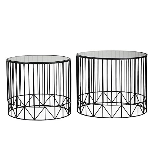 Cheap  DecentHome Luxury Home Garden Patio Accent Metal Nesting Side Eed Tea Coffee..