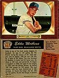 Eddie Mathews Unsigned 1955 Bowman Baseball Card