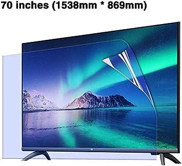 DPPAN 70 Pulgadas TV Protección de Pantalla para Televisor Anti ...