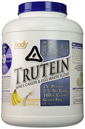 Body Nutrition Trutein Banana Cream 4 Lbs (Whey Banana Matrix)