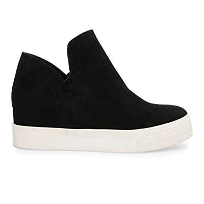 Chenghe Women's Hidden Wedge Sneakers High Top Slip On Wedge Booties Sneakers Wedges Shoes | Fashion Sneakers