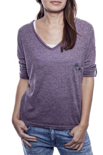 Ella Manue Women Boxy Shirt Camiseta para Mujer Mia Purple