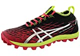 ASICS Womens Gel Fuji Runnegade 2 Trail Running Rhoes (6.5, Azaela/Silver/Black)