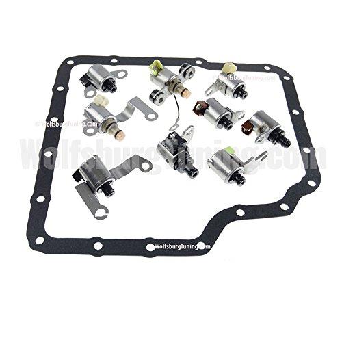 VW MK4 Golf GTI Jetta Transmission Solenoid Set Tiptronic 5 speed 1.8T VR6 TDI (Tdi Filter Transmission)