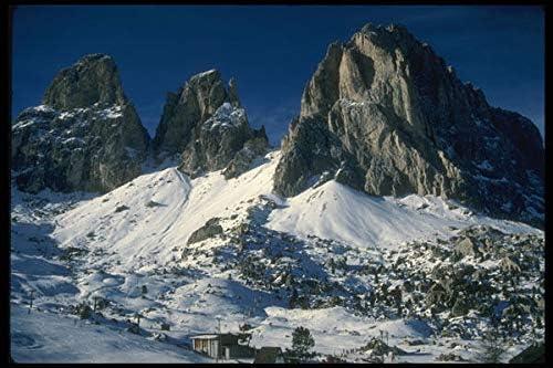 Inga Dolomiti Mountains The Alps Plaque en m/étal 20,3 x 30,5 cm