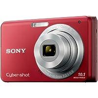 Sony Cybershot DSC-W180 10.1MP Digital Camera with 3x SteadyShot Stabilized Zoom and 2.7-inch LCD (Red)