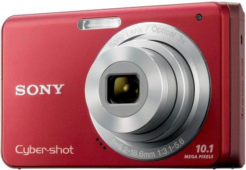Sony Cybershot DSC-W180 10.1MP Digital Camera with 3x Ste...