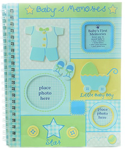 Small Wonders Infant Boy's Memory Book