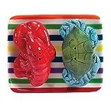 Ocean Waters Red Lobster & Blue Crab Salt & Pepper Shaker Set