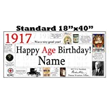 1917 PERSONALIZED BANNER