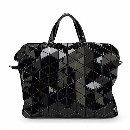 Quilted Plaid Handbag - 6