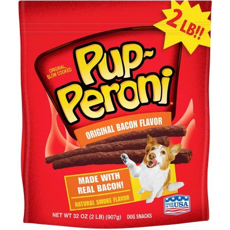 51PL1IIKPFL - Pup-Peroni Original Dog Snacks - Bacon - 32 oz