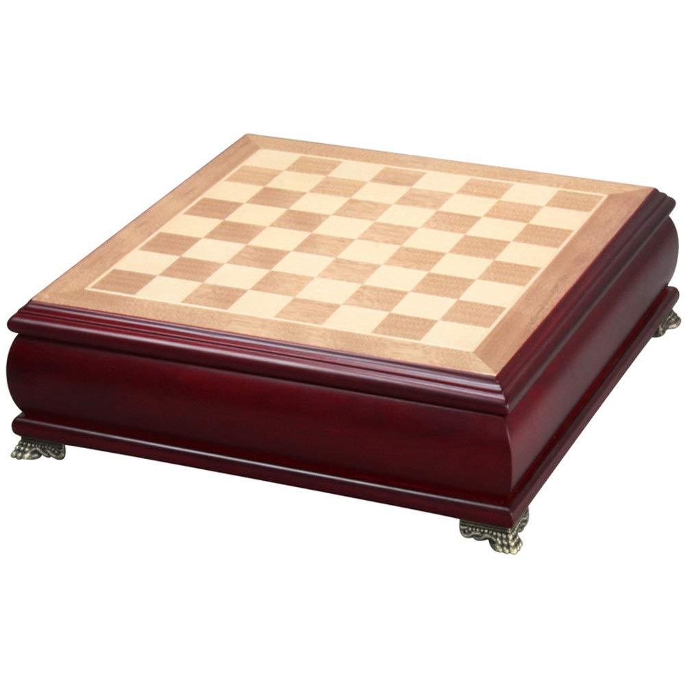 más vendido rojo 37379cm Juego de ajedrez Juego De Ajedrez Ajedrez Ajedrez De Madera De Ajedrez Magnético Plegable De Madera Hecho A Mano Piezas De Ajedrez De Madera Juego Tradicional (Color   rojo, Talla   37  37  9cm)  ordene ahora los precios más bajos