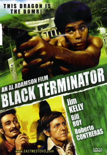 BLACK TERMINATOR W/ JIM KELLY[SLIM CASE]