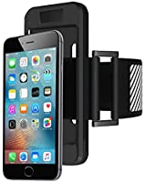 iPhone 6, 6S Case & Sports Armband JZxin Reflective Strap, Soft Silicone Material, Lightweight & Fully Adjustable - Ideal for Workout, Hiking, Jogging, Gym, Running - for iPhone 6, 6S, Galaxy S6/S7