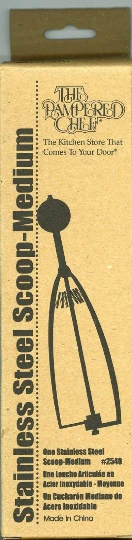 The Pampered Chef Medium Scoop #2540