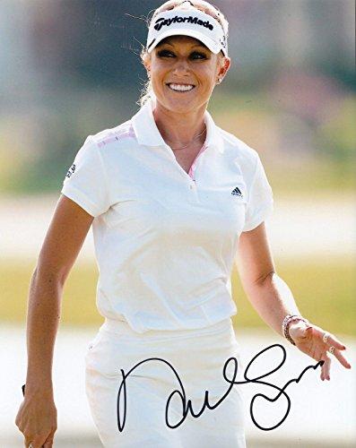 - Autographed Natalie Gulbis Photo - * * WOMENS 8X10 W COA Evian Masters #1 - Autographed Golf Photos