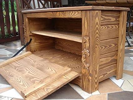 De madera sin barnizar para muebles de cajas de almacenamiento o ...