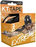 "KT TAPE Pro Extreme Therapeutic Elastic Kinesiology Tape (20 Pre-Cut), 10"", Black"