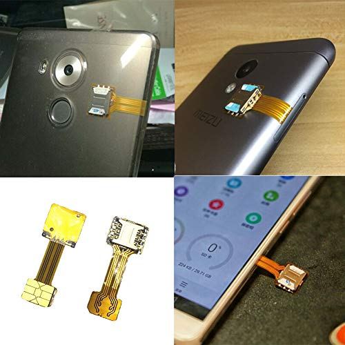Amazon.com: Conversor de tarjeta SIM, adaptador de tarjeta ...