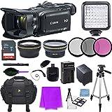 Canon VIXIA HF G40 Full HD Camcorder Accessory Bundle (15 Items)