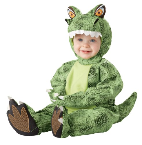 [California Costumes Infant Tot-Rannosaurus Costume, Green, 12-18 Months] (Trex Baby Costumes)
