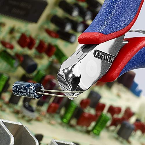 KNIPEX 64 42 115 Pince coupante de devant pour l/électronique avec gaines bi-mati/ère 115 mm