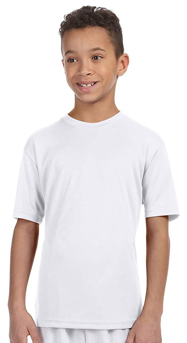 Harriton Youth Comfortable Fit Athletic Sport T-Shirt