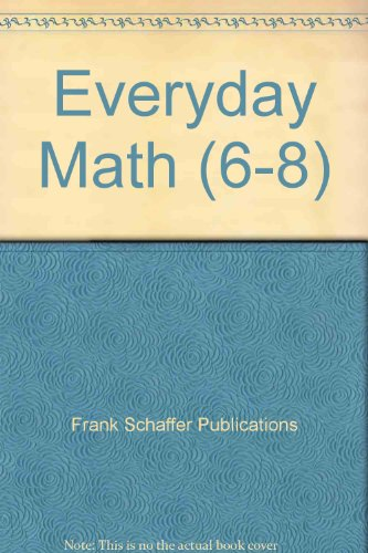 Everyday Math (Grades 6-8)