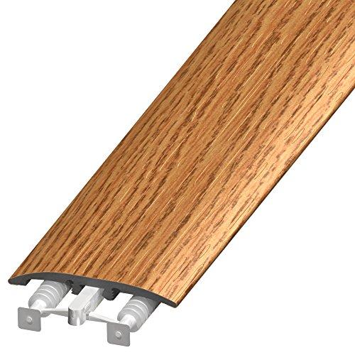Wood Floor Moldings (Cal-Flor MD11031 Unitrim Waterproof 3-in1 Floor Molding 2