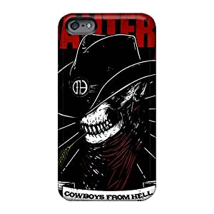 Hard Protect Phone Cases For Apple Iphone 6 (EcF2646HZlp) Support Personal Customs Fashion Pantera Pattern