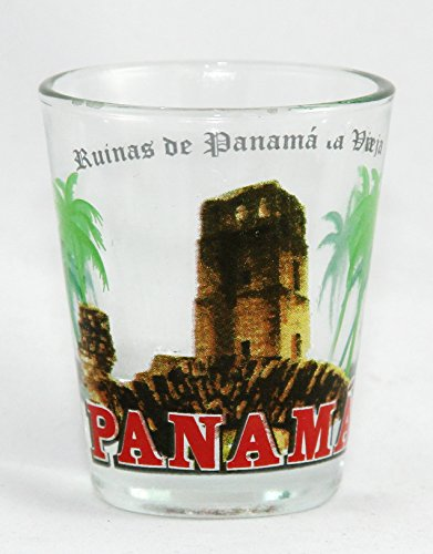 Panama Viejo Old City Historical Shot Glass