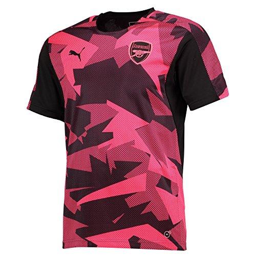 2017-2018 Arsenal Puma Camo Stadium Jersey (Plasma) - Kids