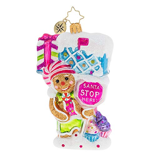 Christopher Radko Super Sweet Candy Mailbox! Christmas Ornament