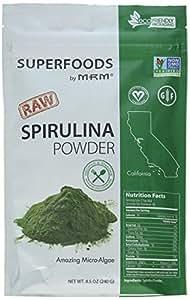 MRM - Spirulina Raw Superfood, Non-GMO Project Verified, Vegan and Gluten-Free (8.5 oz)