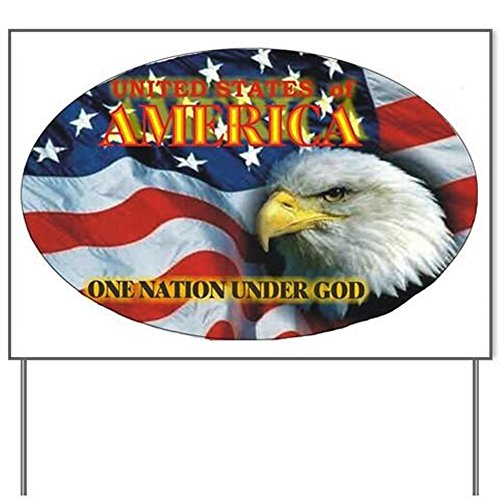 One Nation 2 Yard SignYard Sign, Vinyl Lawn Sign, Political