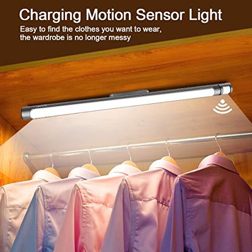 LECLSTAR Motion Sensor Closet Lights for Under Cabinet Lighting,51 LED Wireless Closet Lights Battery Operated Motion Sensor Closet Light Motion by LECLSTAR (Image #1)