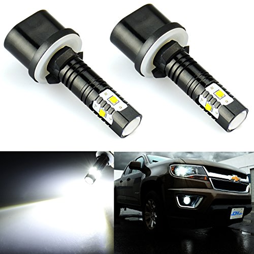 - JDM ASTAR Extremely Bright Max 30W High Power 880 890 892 LED Fog Light Bulbs for DRL or Fog Lights, Xenon White