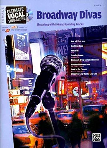 Download Ultimate Vocal Sing-Along Broadway Divas: Female Voice, Book & Enhanced CD pdf