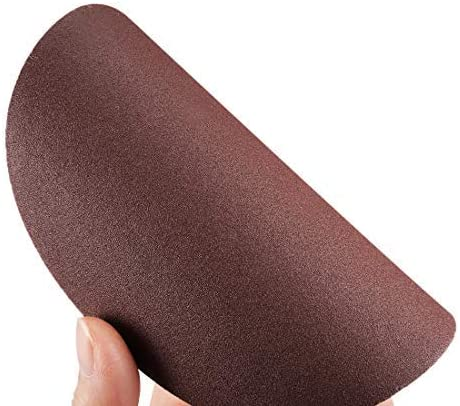 10 pieces 400 grains back sandpaper for sanders aluminum oxide sandpaper 5-inch sanding disc
