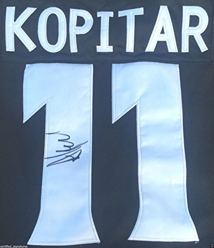 ANZE KOPITAR SIGNED LOS ANGELES KINGS JERSEY 2012 2014 STANLEY CUP CHAMPIONS J1